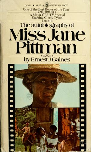 Download The autobiography of Miss Jane Pittman