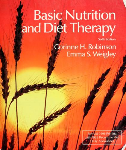 Download Basic nutrition and diet therapy