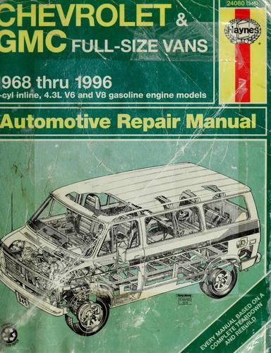 Download Chevrolet & GMC vans automotive repair manual