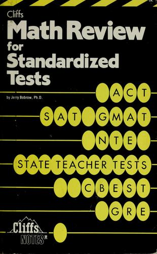 Download Cliffs math review for standardized tests
