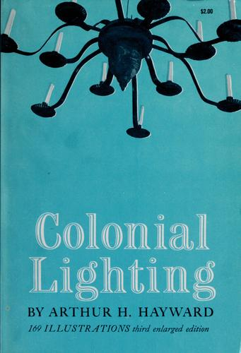 Colonial lighting.