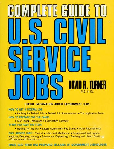 Complete guide to U.S. civil service jobs