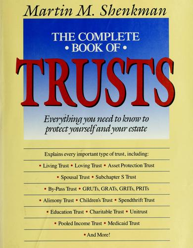 Download The  complete book of trusts