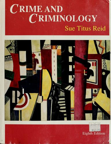 Download Crime and criminology