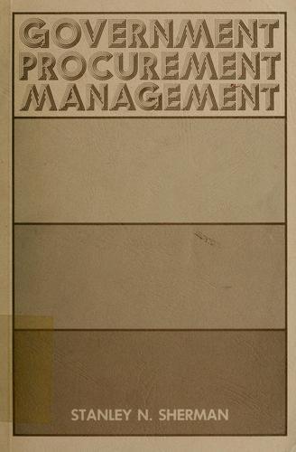 Government procurement management