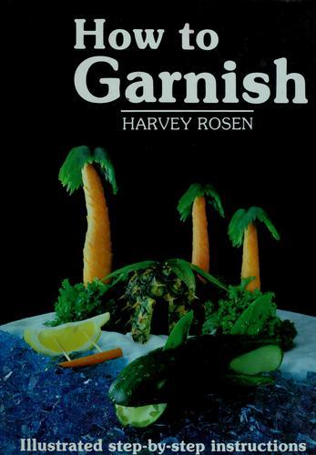 How to garnish