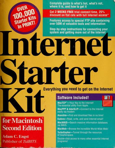 Internet starter kit for Macintosh