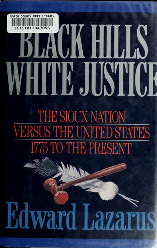 Black Hills/white justice