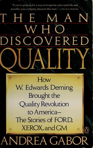 Download The man who discovered quality