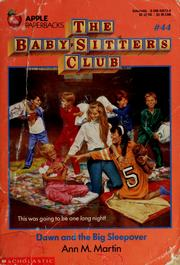 The Baby Baby-Sitters Club #44: Dawn and the Big Sleepover