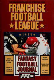 Franchise Football League Official Nineteen Ninety-Four Fantasy Football Jour...