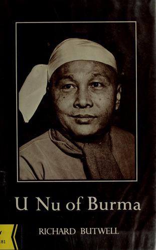 U Nu of Burma.