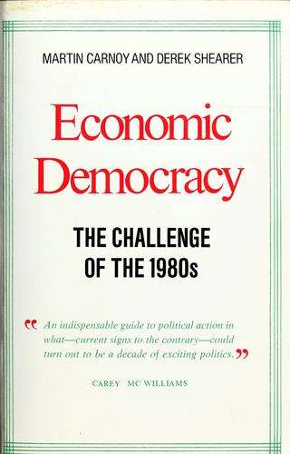 Download Economic democracy
