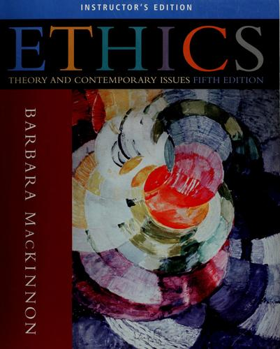 Ethics by Barbara MacKinnon