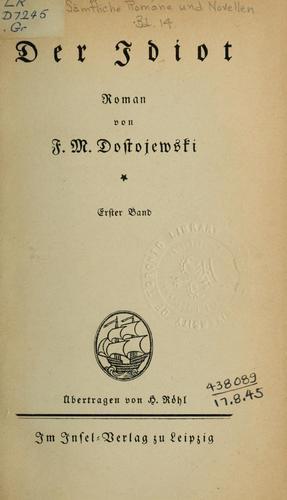 Download Sämtliche Romane und Novellen