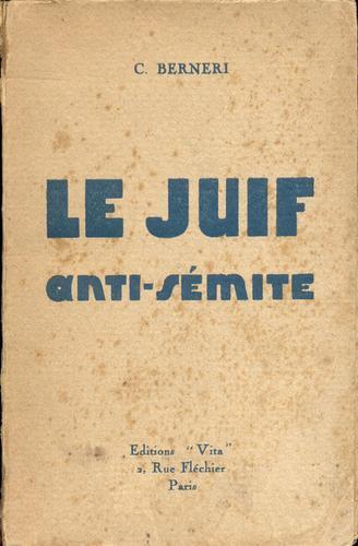 Le Juif anti-sémite