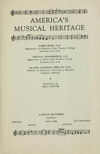 Download America's musical heritage