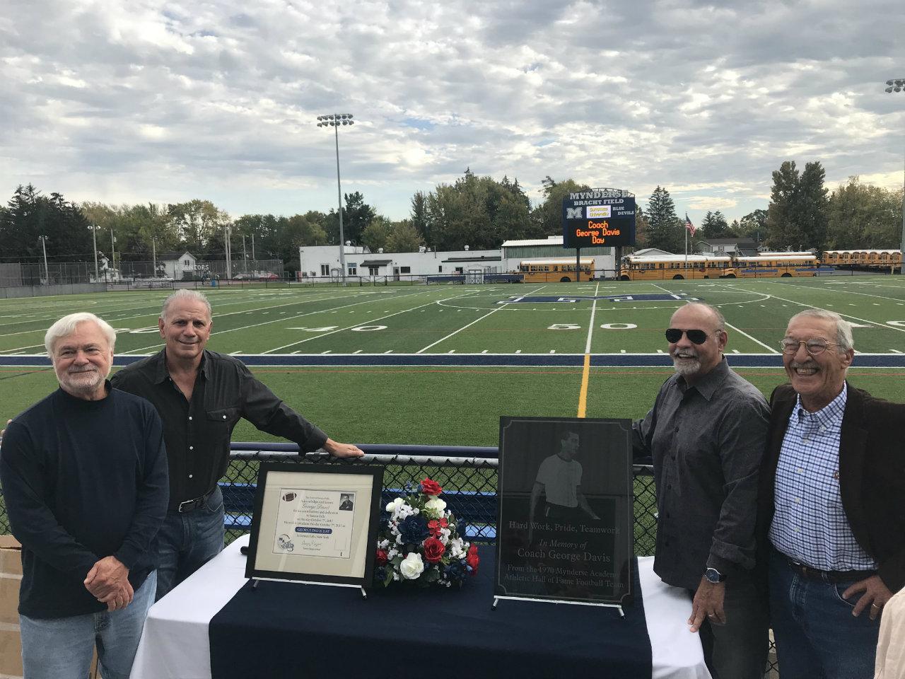 Coach Davis Day celebrated in Seneca Falls (photo)