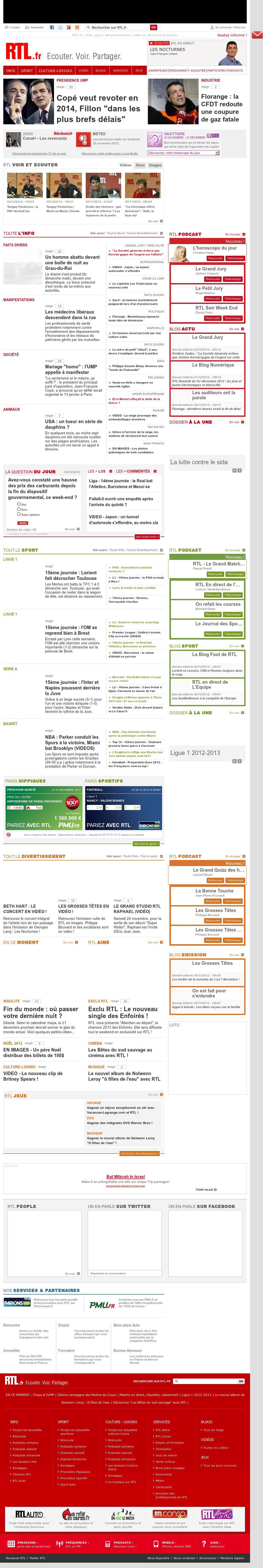 RTL at Monday Dec. 3, 2012, 12:27 a.m. UTC