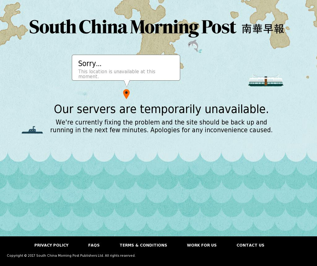South China Morning Post at Tuesday Oct. 10, 2017, 6:21 p.m. UTC