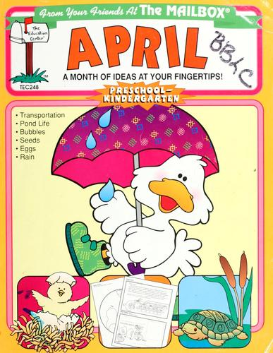 April by Barbara Backer