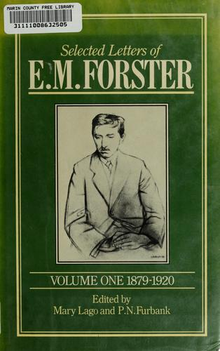 Selected letters of E.M. Forster by E. M. Forster