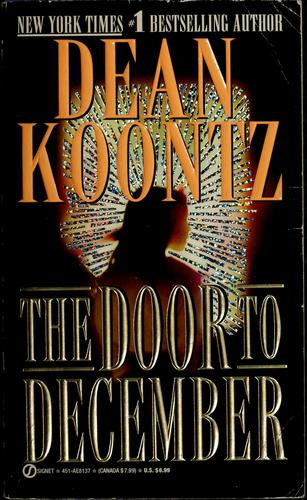 The door to December by Dean R. Koontz