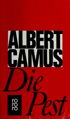 Die Pest by Albert Camus