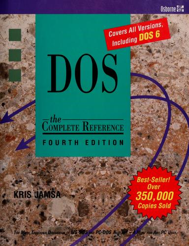 DOS, the complete reference