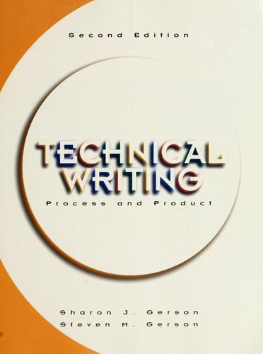 Technical writing by Sharon J. Gerson