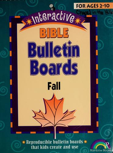 Interactive Bible bulletin boards by Susan Julio