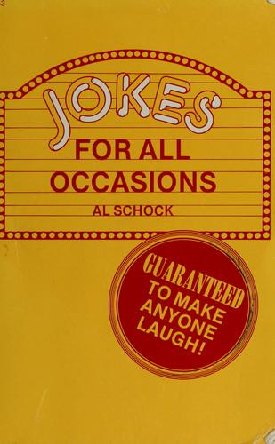 Jokes for all occasions by Al Schock