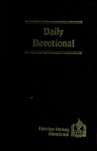 Daily devotional by Marilyn Hickey