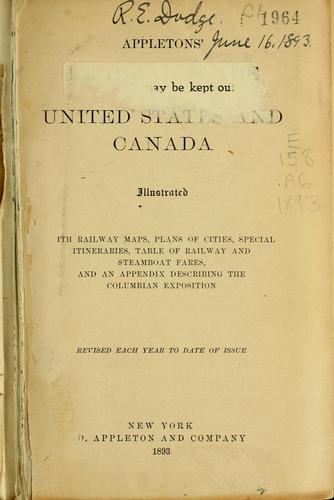 Appleton's general guide to the United States and Canada by