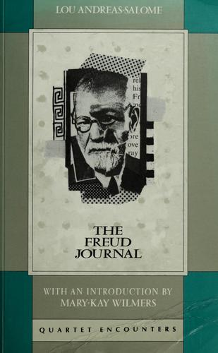 The Freud journal by Lou Andreas-Salomé