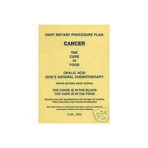 Hart Dietary Procedure Plan Cancer the Cure Is in Food by Francis Hart