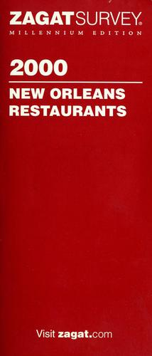 2000 New Orleans restaurants by Sharon Litwin